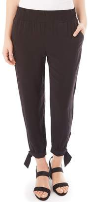 Apt. 9 Women's Smocked Tie Accent Jogger Pants