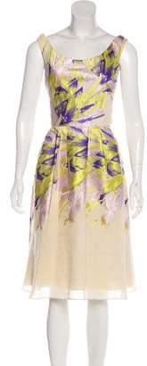 Lela Rose Two-Piece Midi Dress Set