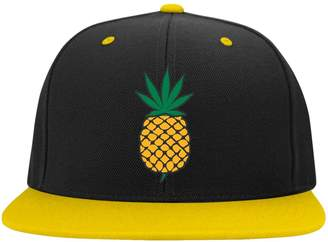 Express ThatMerch.Store Pineapple Weed Leaf Snap Back Hat