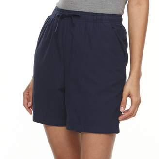 Gloria Vanderbilt Petite Lucy Drawstring Shorts