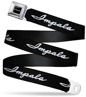 Buckle-Down Men's Seatbelt Belt Impala Regular
