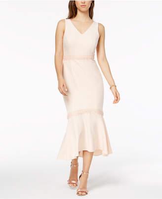 Nanette Lepore Nanette by Crochet-Trim Dress, Created for Macy's