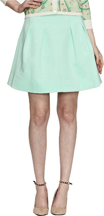 Pink Tartan Pleated Waist Skirt