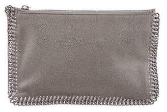Stella McCartney Shaggy Deer Falabella Zip Clutch w/ Tags