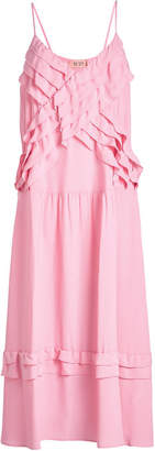 N°21 Ruffle Maxi Dress