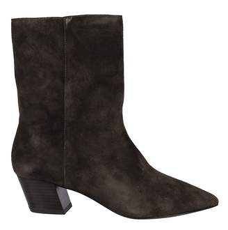 Ash Side Zipped Ankle Boots