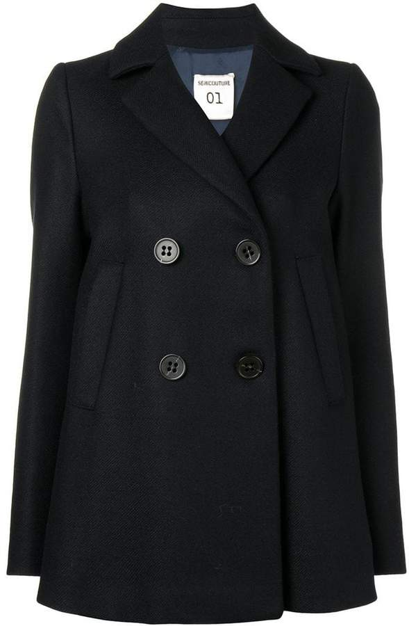 Semicouture double breasted coat