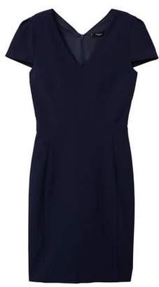 MANGO Seam bodycon dress