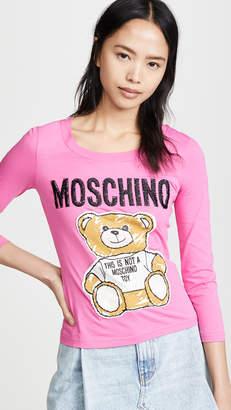 Moschino Bear Logo Tee