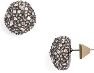 Alexis Bittar Elements Pave Stud Earrings
