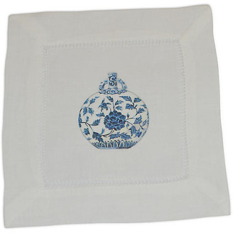 Set of 4 Jar Cocktail Napkins - Blue - The French Bee