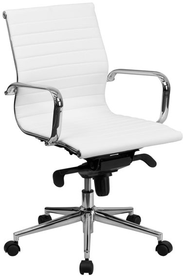 Flash Furniture Mid-back Bonded Leather Office Chair