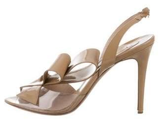 Nicholas Kirkwood Slingback Bow Sandals