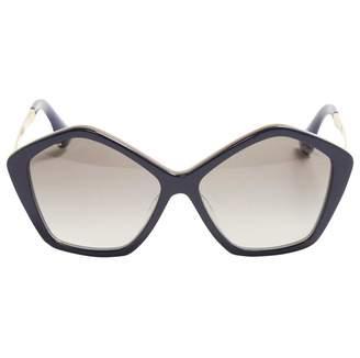 9746e25d8ab Miu Miu Blue Sunglasses For Women - ShopStyle UK