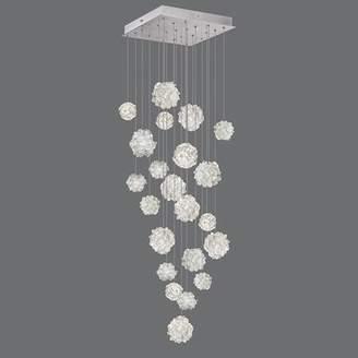 Fine Art Lamps Natural Inspirations Cluster Pendant Fine Art Lamps