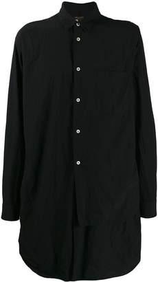 Comme des Garcons chest pocket long shirt