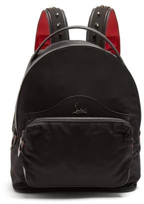 Christian Louboutin Backloubi small spike-embellished backpack