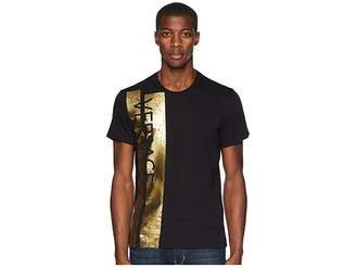 Versace Logo Block Short Sleeve T-Shirt