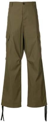 MSGM wide leg trousers