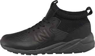Mens 580 Deconstructed Mid Trainers Black