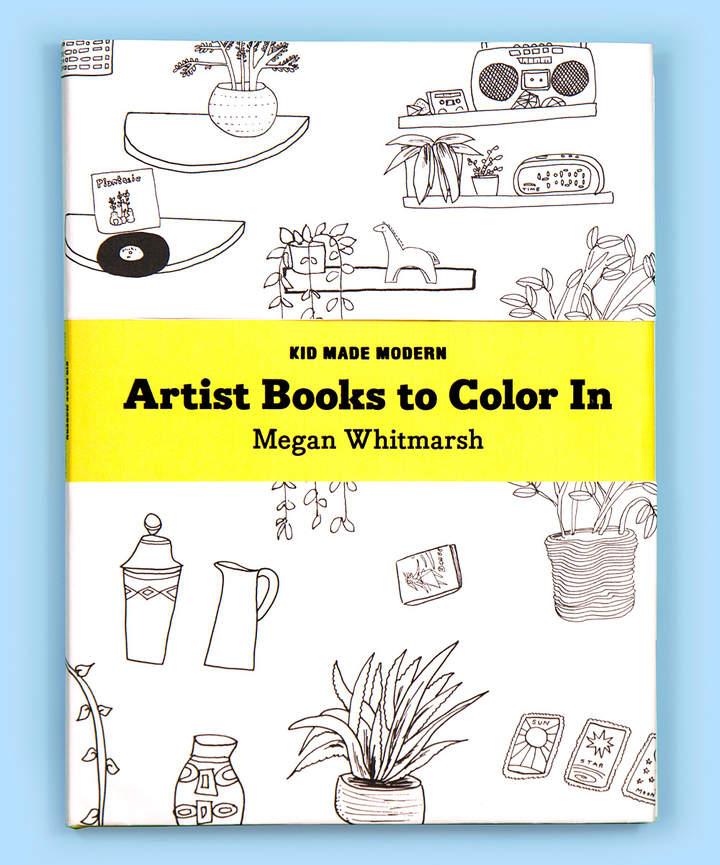 Artist Books to Color In: Megan Whitmarsh