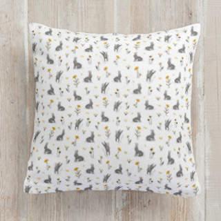 wild rabbits Square Pillow
