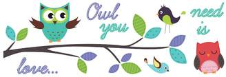 """Wallpops WallPops """"Owl You Need is Love"""" Wall Decals"""