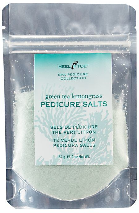 Heel to Toe Green Tea Lemongrass Pedicure Salts