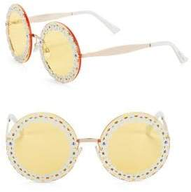 Sam Edelman 60MM Round Daisy Sunglasses