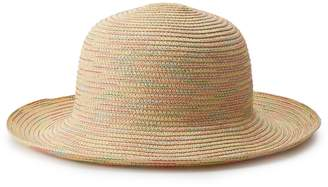 Mudd Juniors' Rainbow-Stitch Bucket Hat