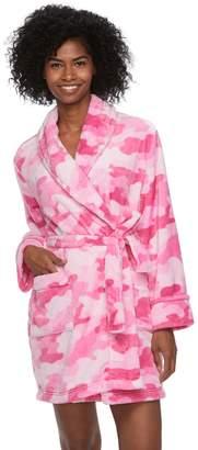 Sonoma Goods For Life Women's SONOMA Goods for Life Short Plush Robe