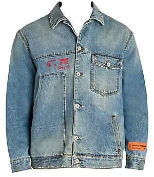 Heron Preston Men's Workwear Denim Jacket