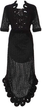 Alice McCall La La Lady Crochet Loop Dress