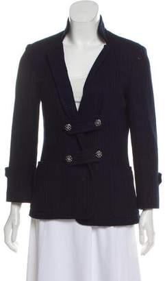 Chanel Knit Notch-Lapel Jacket