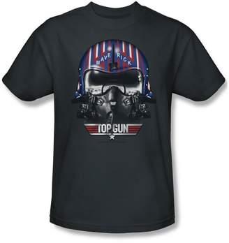 Top Gun Mens Maverick Helmet T-Shirt In
