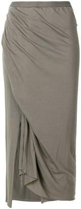 Rick Owens Lilies side slit pencil skirt