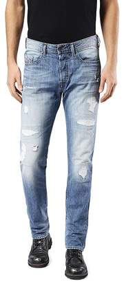 Diesel Buster Slim Straight Fit Jeans in Denim $198 thestylecure.com