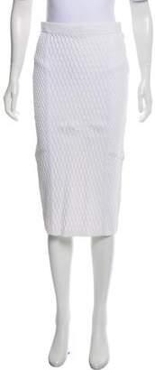 Jonathan Simkhai Knee-Length Knit Skirt w/ Tags