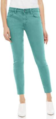 Sam Edelman The Kitten Raw Hem Skinny Jeans