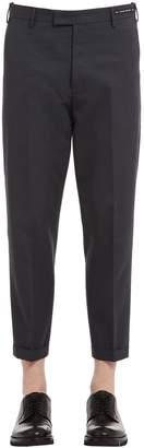 Pt01 20cm Stretch Cotton Pants