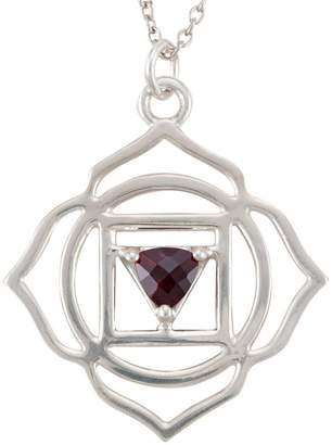 Bohemia My Jewelry Sterling Silver Root Chakra Necklace