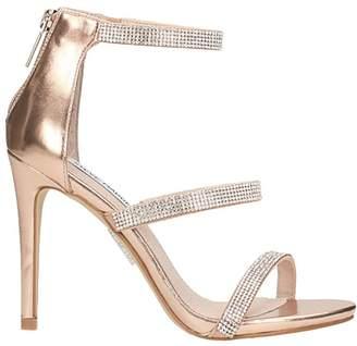 Steve Madden Smokin Pink Bronze Sandals