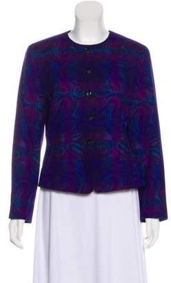 Pendleton Wool Collarless Jacket