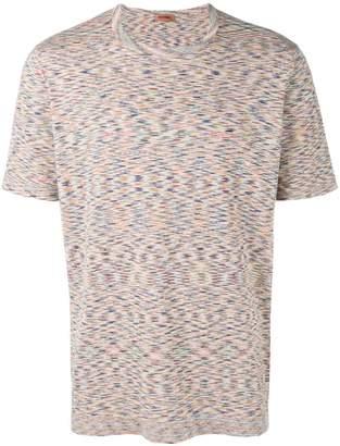 Missoni mesh pattern T-shirt