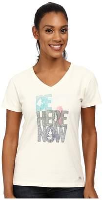 Life is Good Crushertm Vee Women's T Shirt