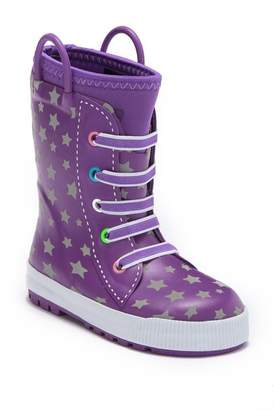 Western Chief Twinkle Stars Reflective Rain Boot (Toddler & Little Kid)