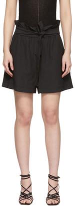 3.1 Phillip Lim Black Paperbag Shorts
