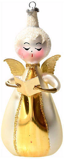 One Kings Lane Vintage Midcentury Italian Angel Ornament - Portfolio No.6