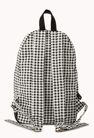 Forever 21 Sweet Gingham Backpack
