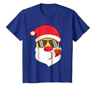 Merry Funny Christmas Emoji Shirt Santa Claus Outfit Clothes